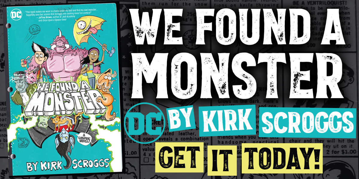 We Found A Monster - Get It Today!